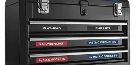 Magnetic Toolbox and Socket Labels Combo Deal