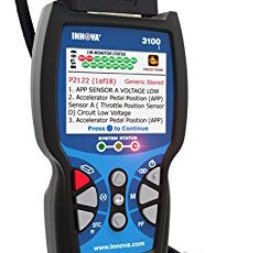 Innova 3100j Diagnostic Code Reader Review – 2017